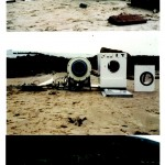 Baptistery Launderette - Dismantling of Washing Machine on Beach 2