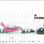 Farm Side Elevation - Lowered Situation